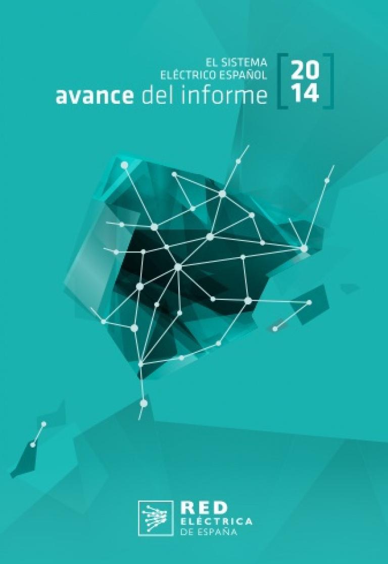 Avance del sistema eléctrico español 2014.
