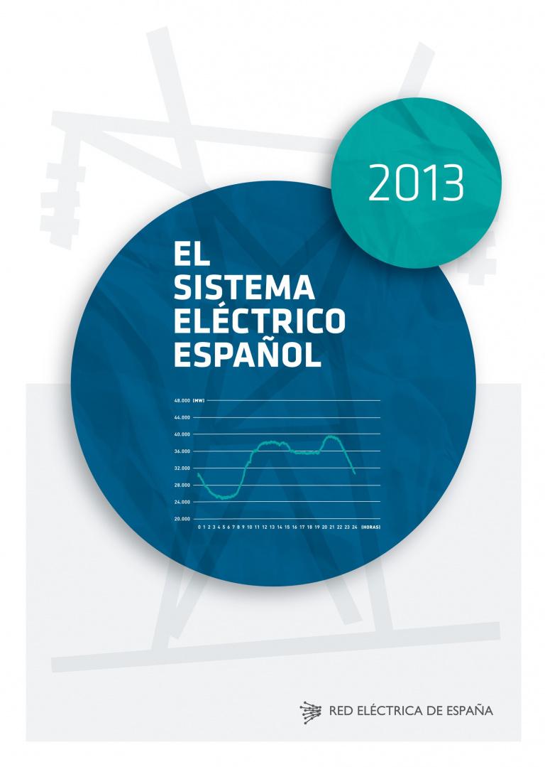 Portada del Informe del Sistema Eléctrico Español 2013