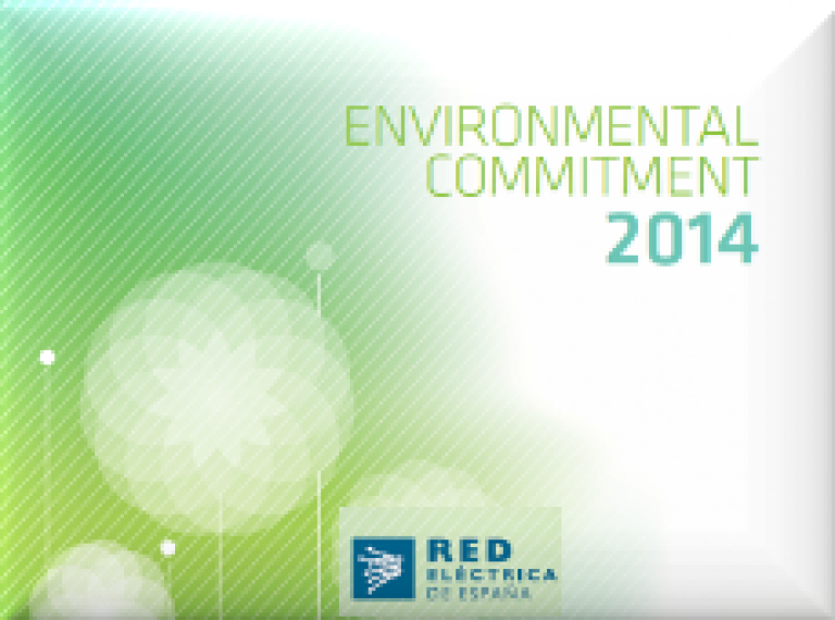 "Go to ""Environmental Committment 2014"""