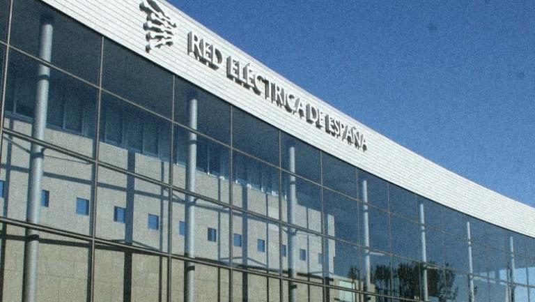 Fachada del edificio de Red Eléctrica Española