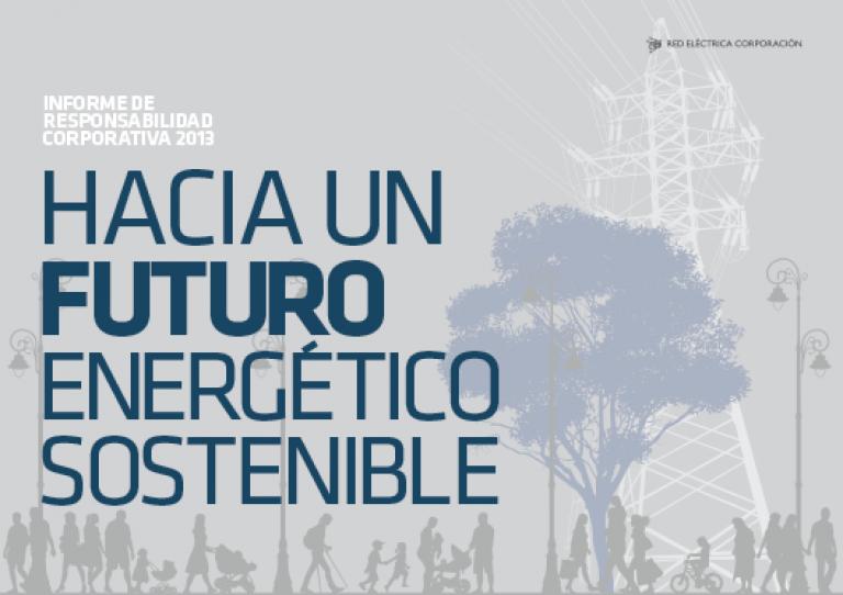 Portada del Informe de Responsabilidad Corporativa 2013