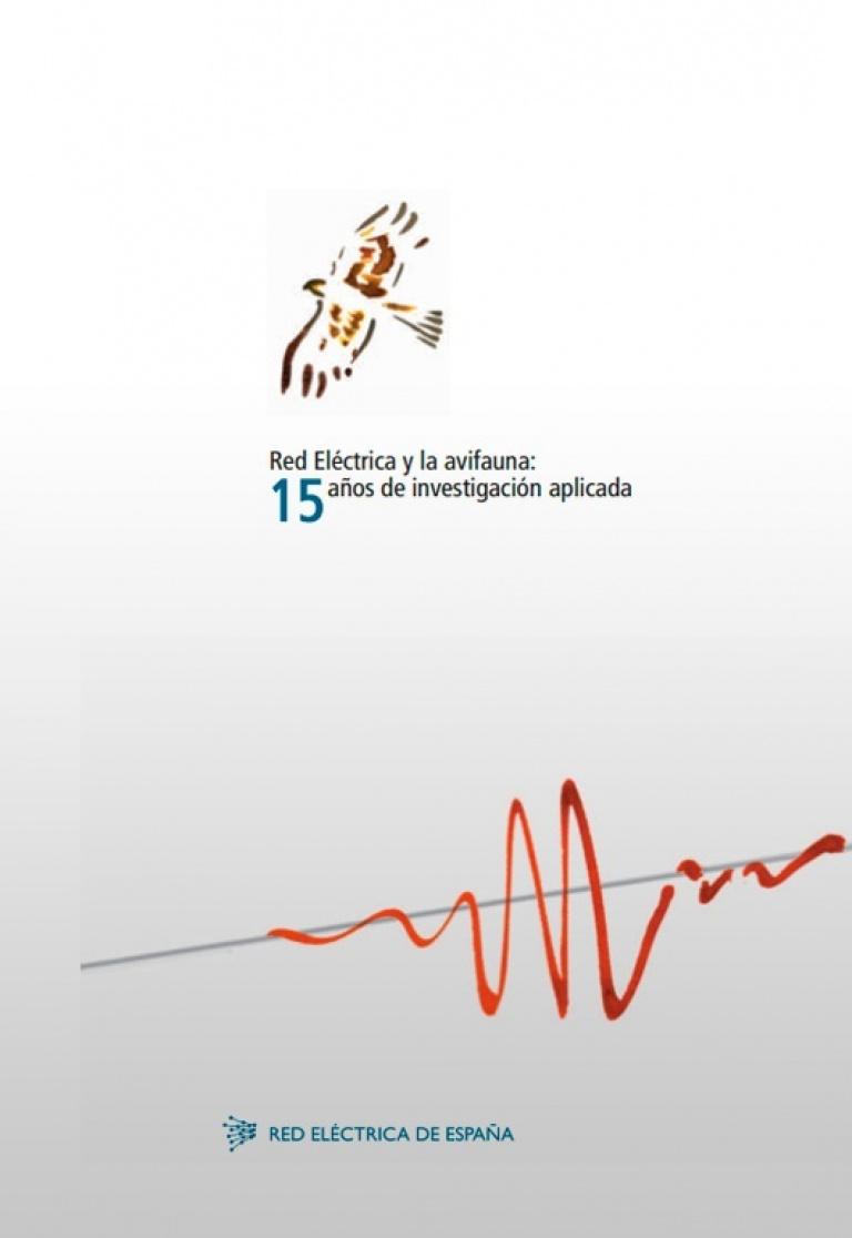 Portada de 'Red Eléctrica y la avifauna: 15 años de investigación aplicada'