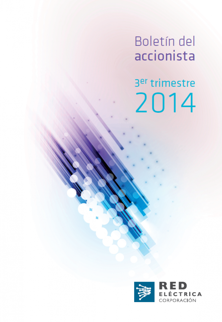 Boletín del accionista. 3er semestre 2014.