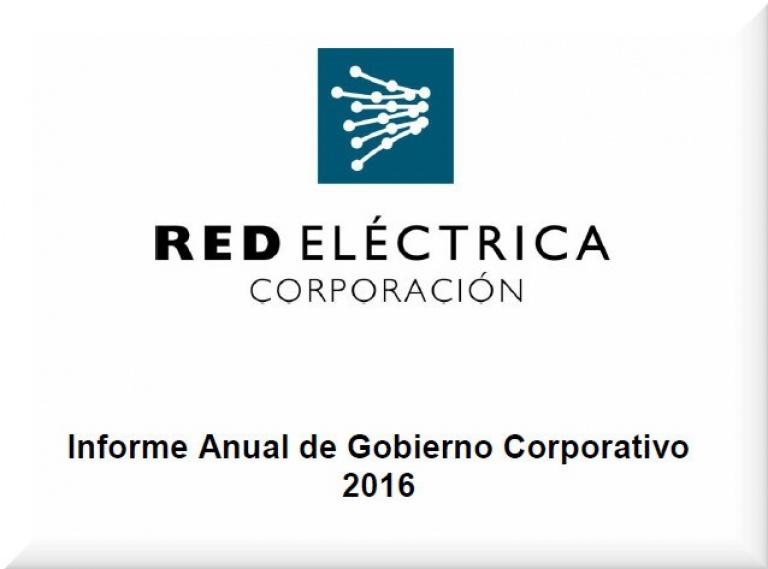 Portada del Informe de Gobierno Corporativo 2016