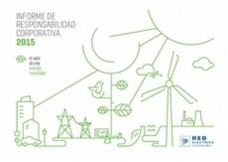 Portada del Informe de Responsabilidad Corporativa 2015