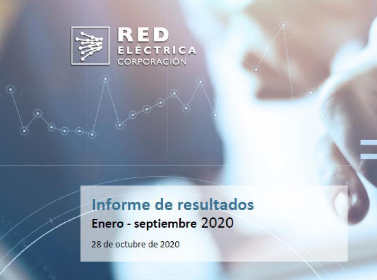 Informe de Resultados de los nueve primeros meses de 2020