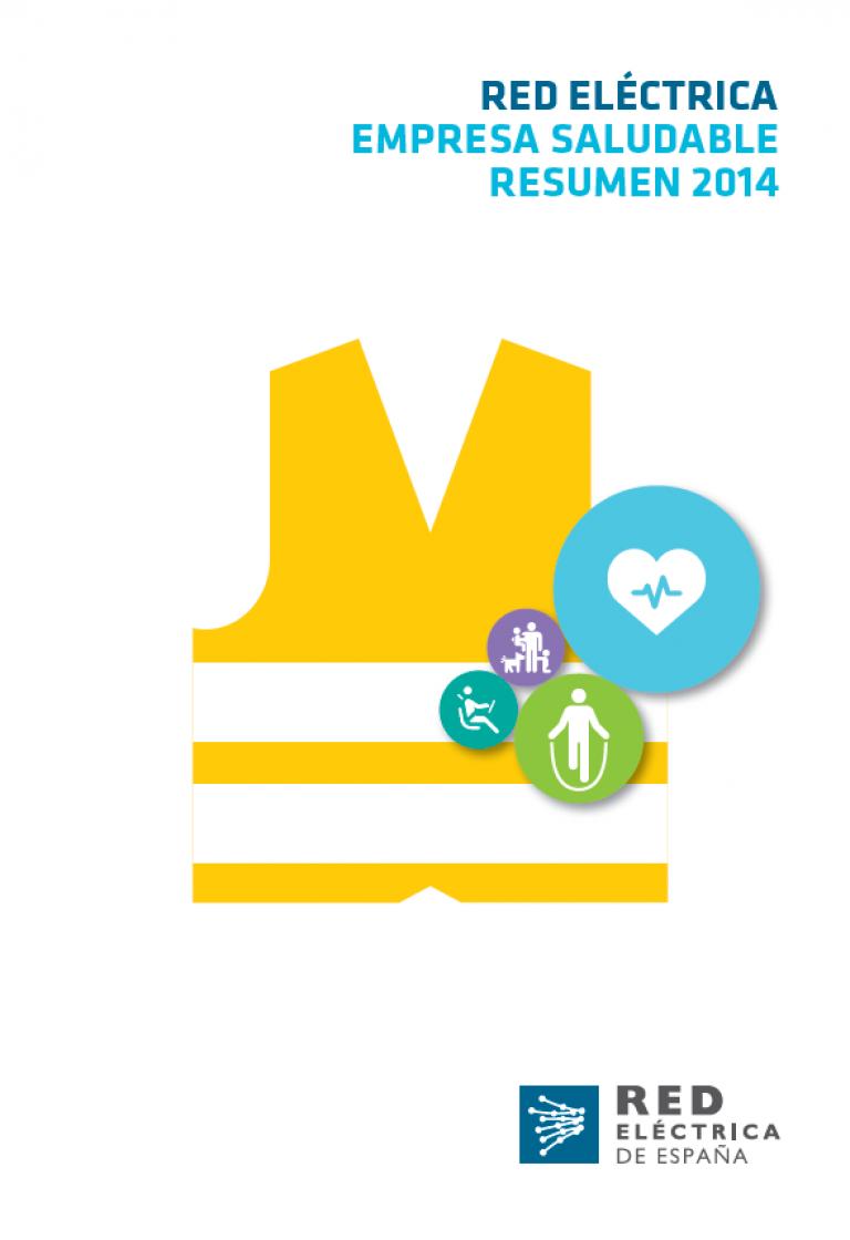Portada La Seguridad y Salud Laboral en Red Eléctrica en 2014