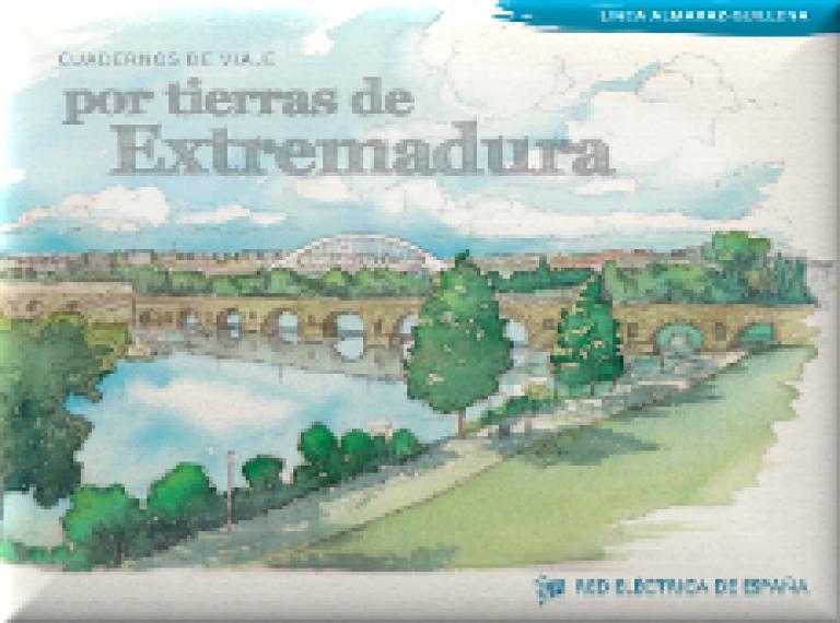 Portada por tierras de Extremadura