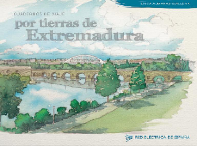 Portada Por tierras de Extremadura.