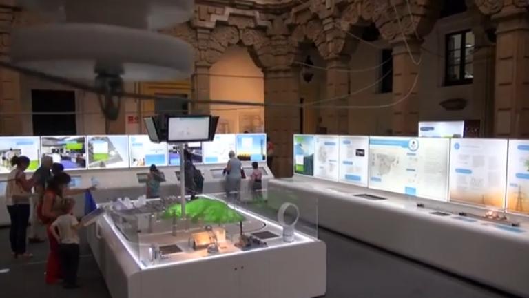 """Video """"Exposición 'Una autopista detrás del enchufe. La electricidad de la central a tu casa' en la Casa de la Ciencia de Sevilla"""""""