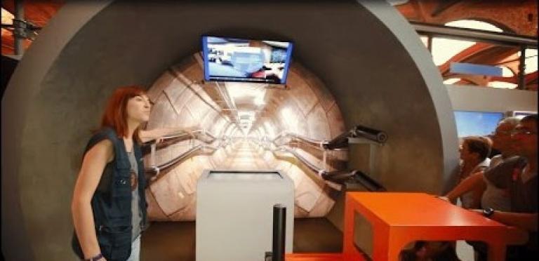 """Video """"Exposición 'Una autopista detrás del enchufe. La electricidad de la central a tu casa' en el Museo Nacional de la Ciencia y la Técnica de Cataluña""""."""
