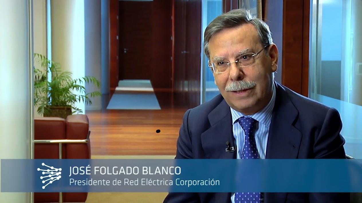 José Folgado Blanco. Presidente de Red Eléctrica de España.