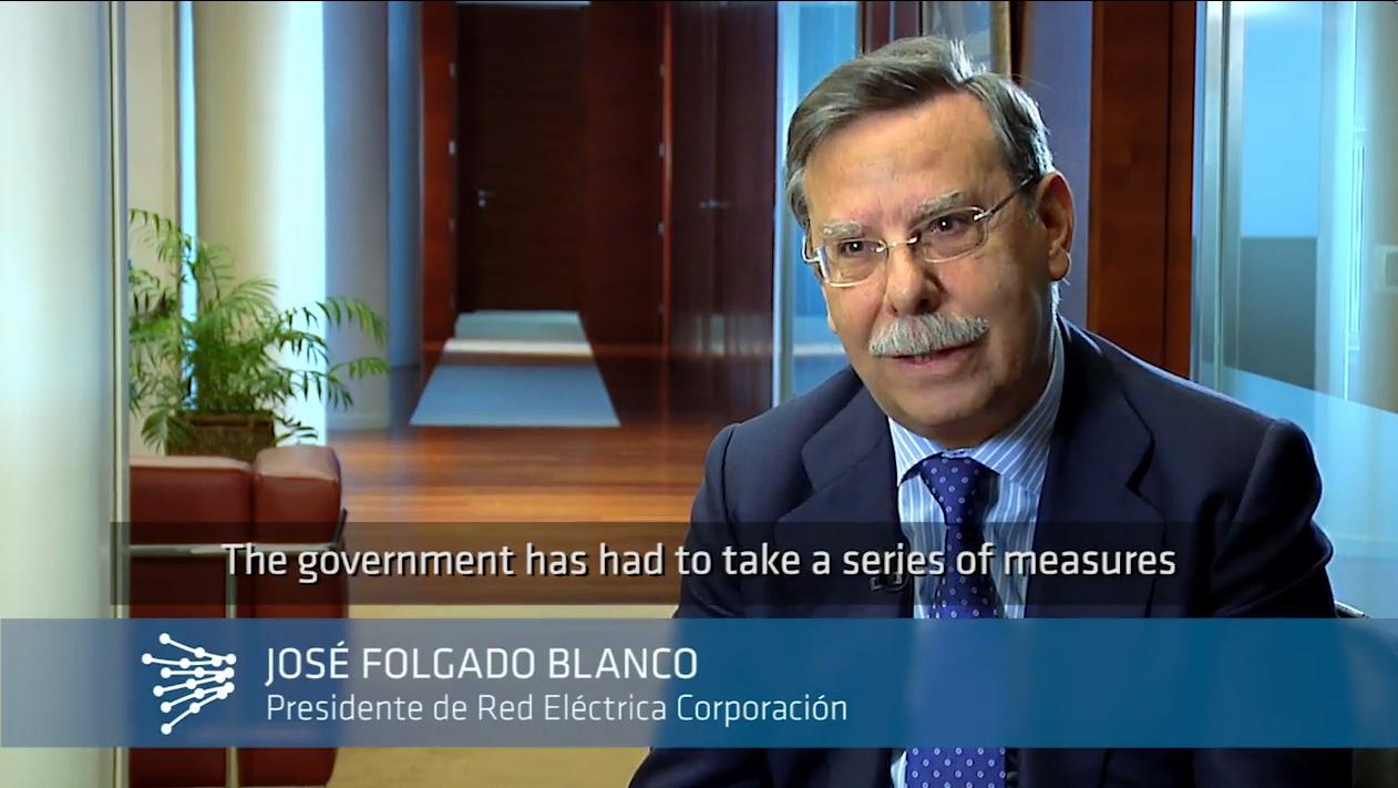 José Folgado Blanco. Chairman of Red Eléctrica de España.